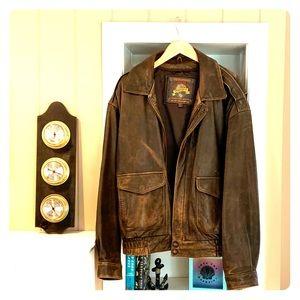 Vintage Wilsons Leather Bomber Jacket XL